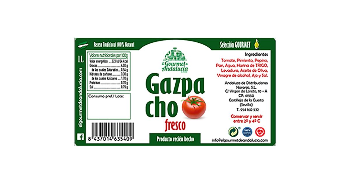 el mejor gazpacho envasado